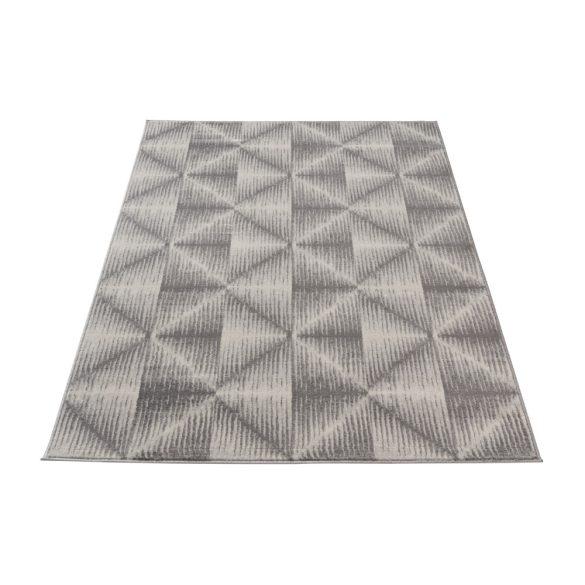 Montana 3732 szürke modern mintás szőnyeg 160x230 cm
