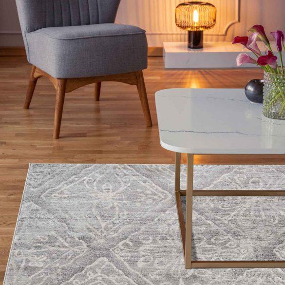 Montana 3734 szürke klasszikus mintás szőnyeg  80x150 cm