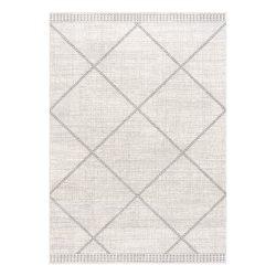 Montana 3752 szürke-bézs modern mintás szőnyeg  80x 150 cm