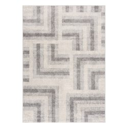 Montana 3754 szürke-bézs modern mintás szőnyeg  80x 150 cm