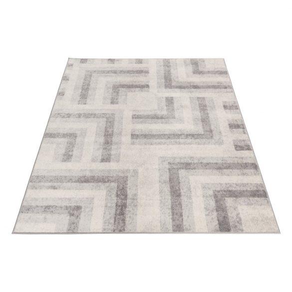 Montana 3754 szürke-bézs modern mintás szőnyeg 160X 230 cm