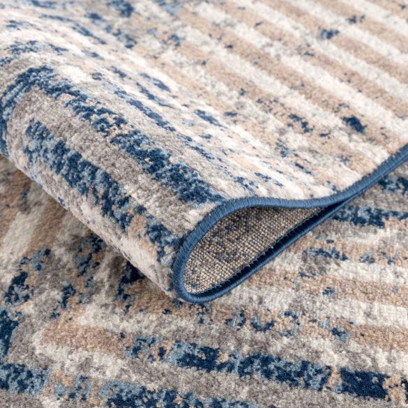 Montana 3760 kék-bézs modern mintás szőnyeg 160x 230 cm