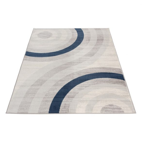 Montana 3762 kék-szürke modern mintás szőnyeg 200x 290 cm