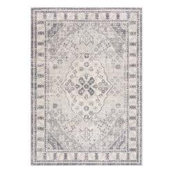 Montana 3920 szürke klasszikus mintás szőnyeg  80x 150 cm