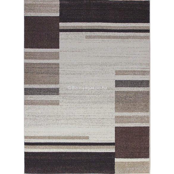 Monte Carlo 1250 bézs vonalas szőnyeg 120x180 cm
