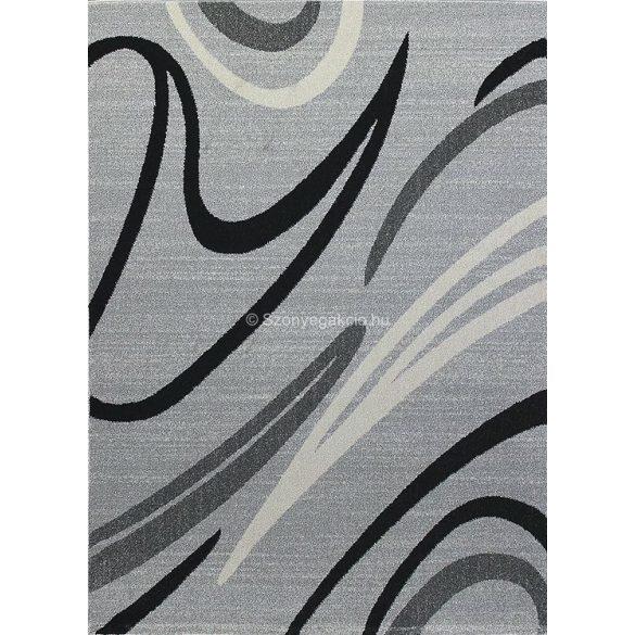 Monte Carlo 1280 világosszürke vonalas szőnyeg 120x180 cm