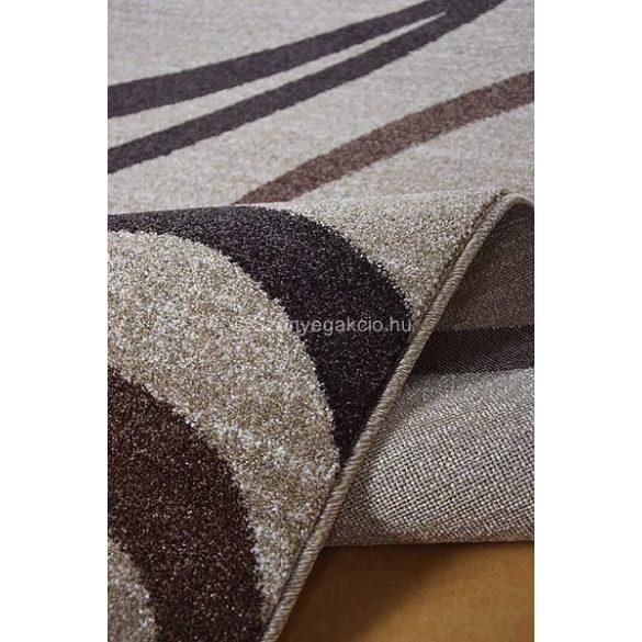 Monte Carlo 1280 bézs vonalas szőnyeg 140x190 cm