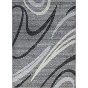 Monte Carlo 1280 sötétszürke vonalas szőnyeg 120x180 cm