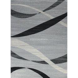Monte Carlo 1290 világosszürke hullámos szőnyeg  80x150 cm