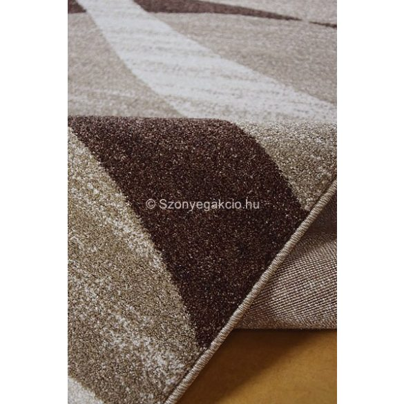 Monte Carlo 1290 bézs hullámos szőnyeg 140x190 cm