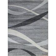 Monte Carlo 1290 sötétszürke hullámos szőnyeg  80x150 cm