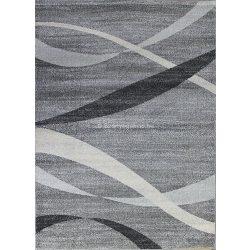 Monte Carlo 1290 sötétszürke hullámos szőnyeg 160x220 cm