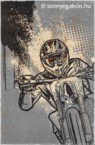 Motocross gyerekszőnyeg 150x200