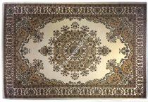 NEVA rojt nélküli Beige 6021 üres középmintás szőnyeg  120x170 cm