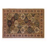 NEVA rojt nélküli Beige 8212 rombusz alakos szőnyeg 120x170 cm