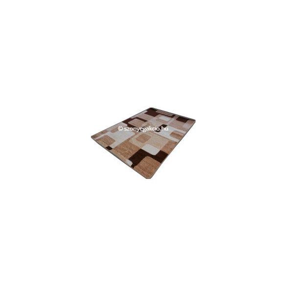 New Beige kockás2 szőnyeg 160x220 cm