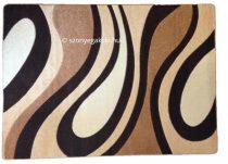 New Beige csepp/vízfolyás szőnyeg  60x220 cm