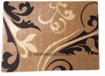 New Beige kacsos indás szőnyeg  80x150 cm