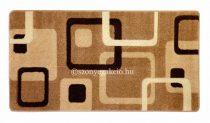 New Beige kockás szőnyeg  80x150 cm
