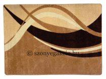 New Beige modern vonalas szőnyeg  80x150 cm