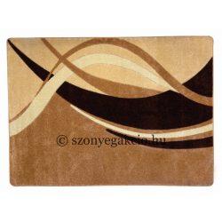 New Beige modern vonalas szőnyeg 160x220 cm