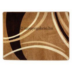 New Beige vonalas szőnyeg  80x150 cm