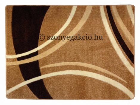 New Beige vonalas szőnyeg 120x170 cm