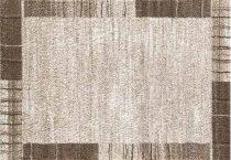 SH Parma 1806 / keretes mintázatú drapp-barna színű szőnyeg 120x170 cm - A KÉSZLET EREJÉIG!
