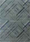 Pescara 1004 szürke vonalkás szőnyeg  80x150 cm