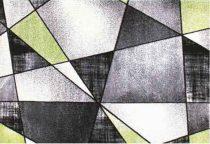SH Rhapsody 1525 szürke-zöld színű szőnyeg 200x0290 cm