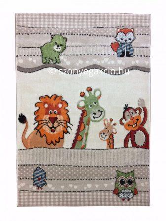 SH Szavanna állatai bézs színű szőnyeg 160x230 cm RK1516