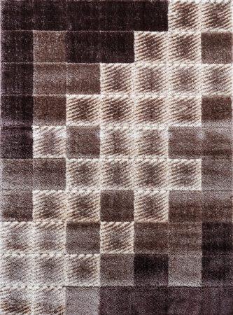 Seher 3D 2615 Brown szőnyeg 160x230 cm