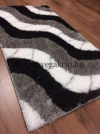 Seher 3D 2616 Black-Grey szőnyeg 160x220 cm