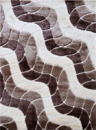 Seher 3D 2616 Brown szőnyeg 160x230 cm
