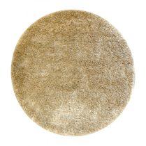 Shaggy Eleysa cream/beige szőnyeg 160 cm kerek - UTOLSÓ DARAB!