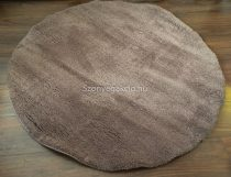 SH Plüss világos barna szőnyeg 120 cm-es átmérővel