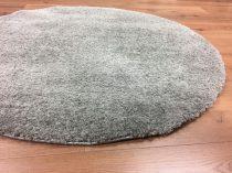 SH Plüss világos szürke szőnyeg 120 cm-es átmérővel