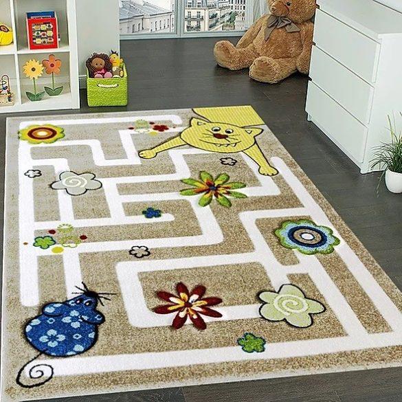 Smart Kids 22303 bézs gyerekszőnyeg 160x230 cm