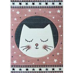 Smart Kids 22412 pink - Cicás rózsaszín gyerekszőnyeg 160x230 cm