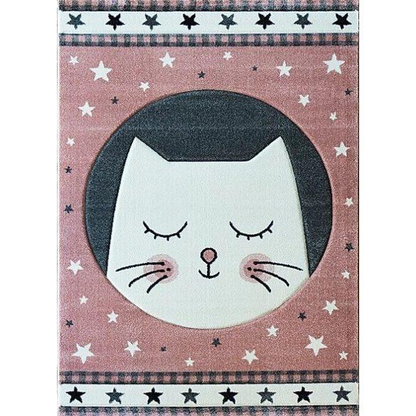 Smart Kids 22412 pink - Cicás rózsaszín gyerekszőnyeg 120x180 cm