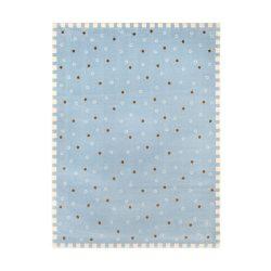 SC Kék Kiscsillagos szőnyeg 115x175 cm