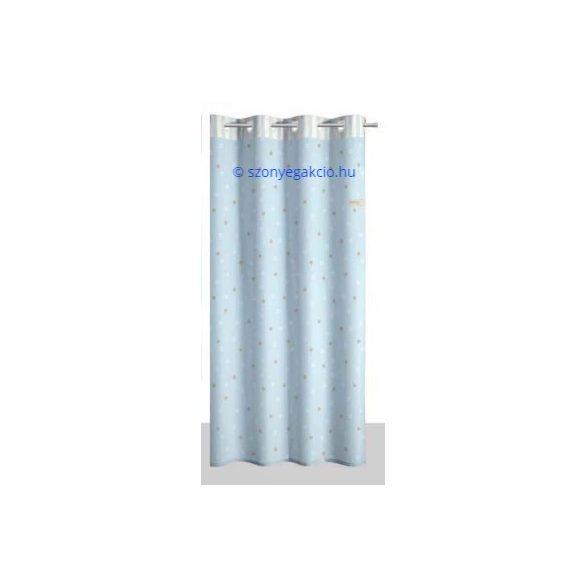 SC Függöny kék kiscsillagos 160x250 cm