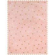 SC Rózsaszín Kiscsillagos szőnyeg 115x175 cm