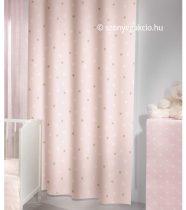 SC Függöny rózsaszín kiscsillagos 160x250 cm