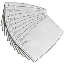 COR cserélhető szűrőbetét 10 db/csomag szájmaszkhoz - Gazdaságos kiszerelés - PM
