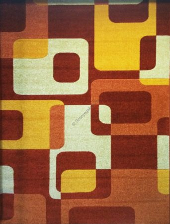 Terra kockás2 szőnyeg  60x220 cm