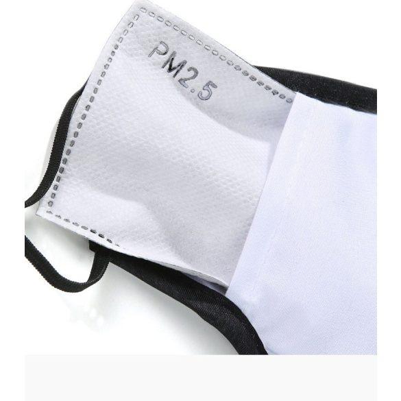 Textil maszk - meggybordó