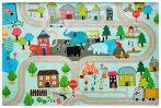 Kids street falvédő 160x230 cm