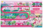 Glamour pink falvédő 120x170 cm