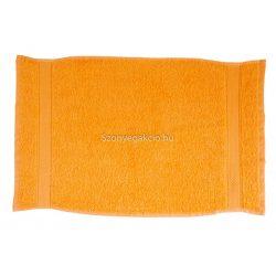 Törölköző 30x50 bordűrös narancssárga